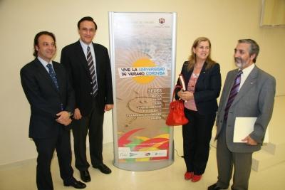 Daniel García, José Carlos Gómez, Encarnación Bello y Miguel Moreno