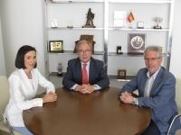 Eva Pozo, Antonio Díaz y Manuel Pineda