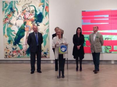 Intervención de Pilar Citoler en la inauguración de la muestra