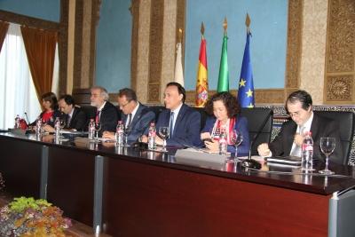 Mesa presidencia de la Asamblea General de CRUE