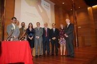 Imagen de la entrega de premios en la facultad de Filosofía y Letras