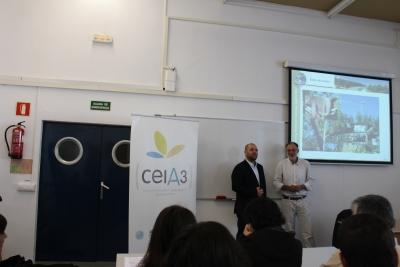 El vicerrector, Enrique Quesada, en la inauguración de su Programa Formativo Training Network Courses