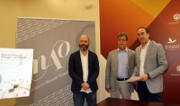 De izquierda a derecha, Luis Medina, Juan Pastor y Blas Sánchez en la presentación de las jornadas.