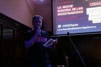 Una de las charlas en la edición anterior de la #NIGHTSpain