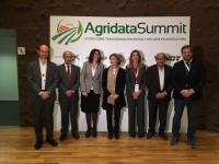 Autoridades en la inauguración del II Foro Agridata Summit