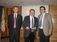 De izq a dcha. Pedro Lavela, Marc Anderson y Manuel Blázquez