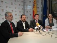 De izquierda a derecha Manuel Pineda, Jesús Rojano, Juan de Dios Torralbo y Lola Cristina Mata