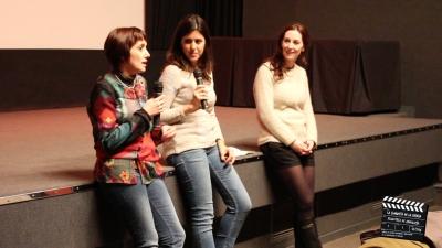 Una de la acciones en la Filmoteca