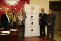 De izq. a dcha. Jose Ignacio Cubero,Rafael Moreno, Jose Manuel Roldán, Antonio Luis Díaz y Miguel Cabezas