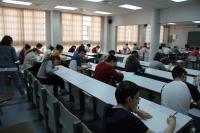 Imagen de archivo de una de las pruebas de acceso a la Universidad