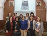 Mujeres de la Universidad de Córdoba que han participado en la lectura de las obras de escritoras españolas.