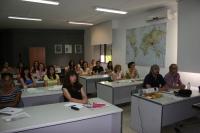 Asistentes al curso durante una de las sesiones
