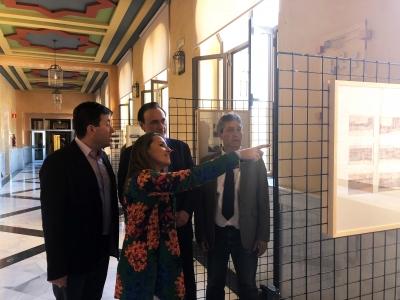 De izquierda a derecha, Antonio Gámiz, Esther Ruiz, José Carlos Gómez Villamandos y Juan Pedro Monferrer