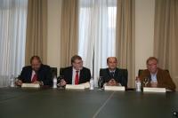 De izq a dcha, Manuel Torralbo, Jose Manuel Roldán,Santiago Moreno y Antonio Pérez
