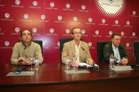 Iñaki López Murga, Manuel Guillén del Castillo y Javier Zubillaga