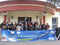 Profesores y asistentes al curso
