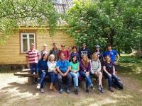 Foto de familia de los integrantes del programa