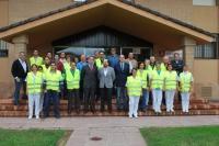 Miembros de los equipos de emergencias y directivos de la UCO