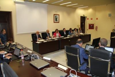 Sesión de Consejo de Gobierno celebrada hoy.