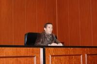Un momento de la charla del doctor Javier Bejarano