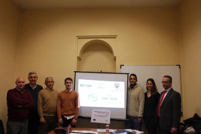 Miembros del Grupo Operativo del proyecto Dosaolivar