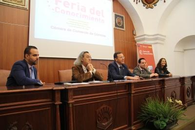 De izquierda a derecha, Iván Aguilera, Fernando Beltrán, Eulalio Fernández, Juan de Dios Torralbo y Maribel Rodríguez Zapatero