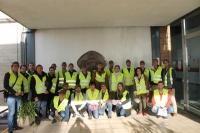 Alumnos del I Curso de Experto Universitario en Sistemas de Refrigeración visitan las instalaciones frigoríficas de cervezas Alhambra