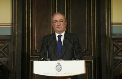 Muñoz Machado en su comunicado como nuevo director de la RAE