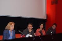 De izquierda a derecha, Carmen Blanco, Joaquín Dobladez, May Silva y Pablo García Casado