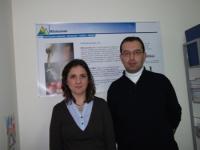 Nieves Núñez y Antonio Serrano