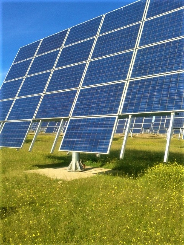 Solar tracked design by the research team of the University of Cordoba