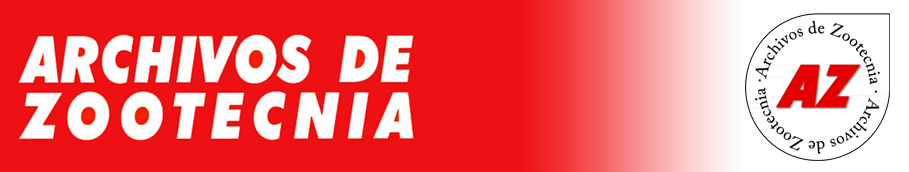 ARCHIVOS DE ZOOTECNIA
